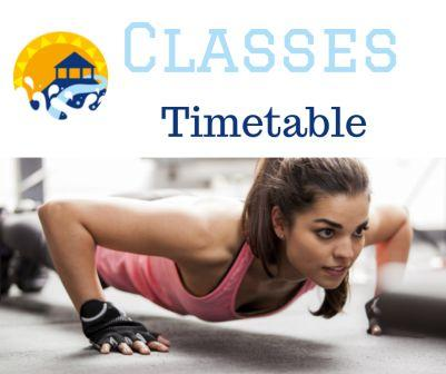 web classes timetable